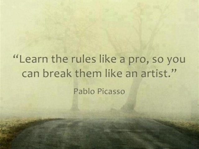 picasso break rules
