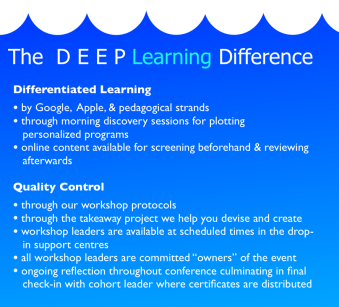 The DEEP Learning Difference